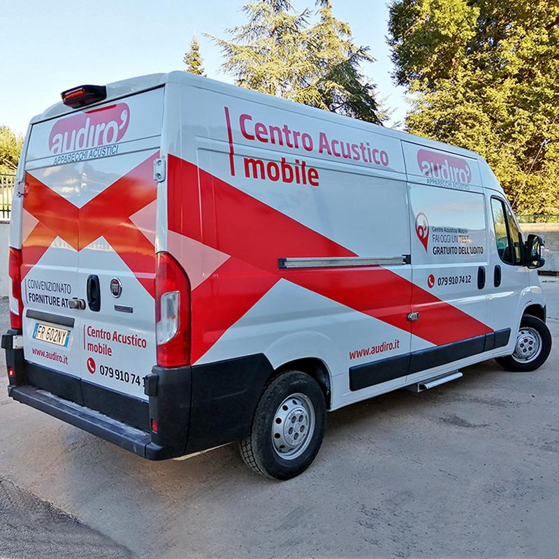 Personalizzazione furgone Audirò